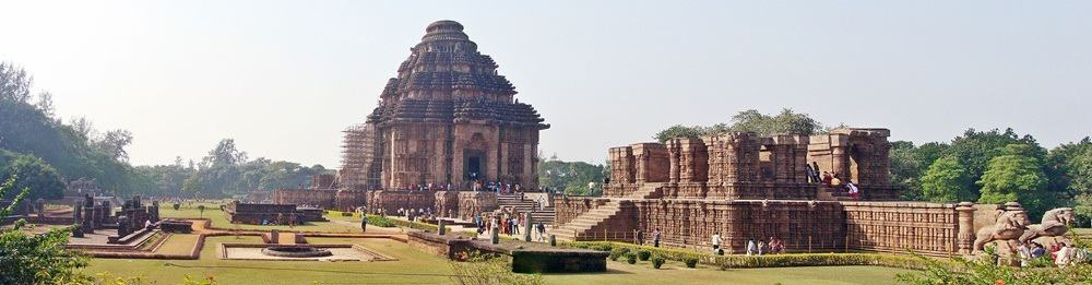 The 13th century Konark Sun Temple, India. © Alokprasad84 - Wikimedia