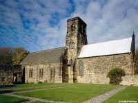 The church at St Paul's Monastery, Jarrow. © English Heritage