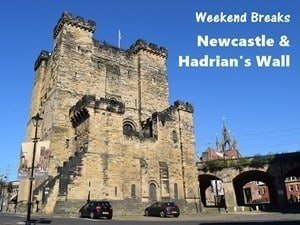 Newcastle is a perfect location for a weekend break to Hadrian's wall.
