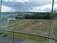 View of the Roman Fort at Wallsend from viewing tower.