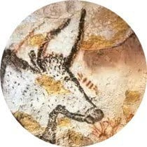 Prehistoric cave paintings in Lascaux, France