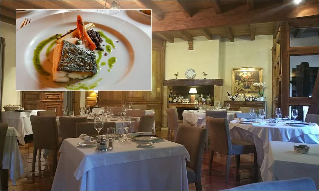 Inside the Restaurant au Vieux Moulin, Les Eyzies.