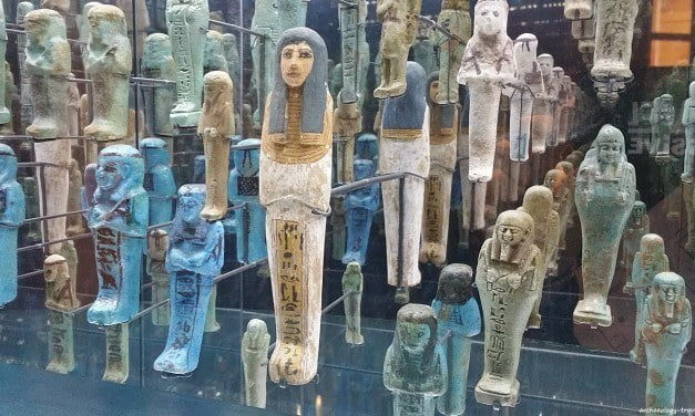 Ancient Egyptian Shabtis at the Bristol Museum