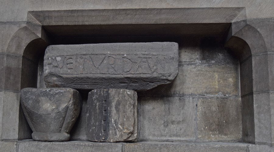 Archaeology Travel | Spolia from Hadrian's Wall | 1