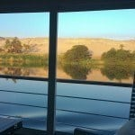 A Cabin With a View: the Nile from the Oberoi Philae