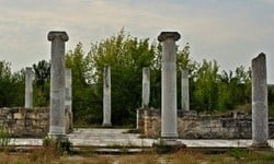 The late Roman town of Abritus in north east Bulgaria. © Vladimir Petkov