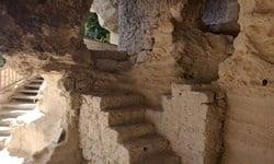 The rock-cut Christian Orthodox Aladzha Monastery, near Varna in Bulgaria.