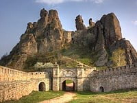 Belogradchik Medieval Fortress among the natural sandstone formations. © Klearchos Kapoutsis