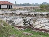 Oescus Roman fort on the Danubian Limes, north central Bulgaria. © Bin im Garten