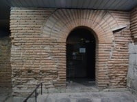 An ancient shop adjacent to the East Gate of the Serdica city wall.