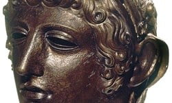 A bronze from the Regional Museum of History in Stara Zagora, Bulgaria.