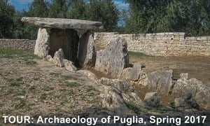 Small-group archaeology tour of Puglia, Italy - from prehistory to the Middle Ages.