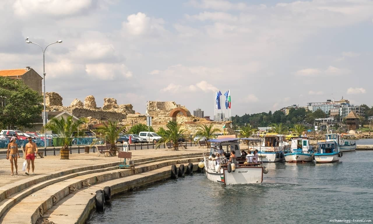 The UNESCO World Heritage site of Nessebar is a popular seaside attraction for those visiting Bulgaria during the summer.