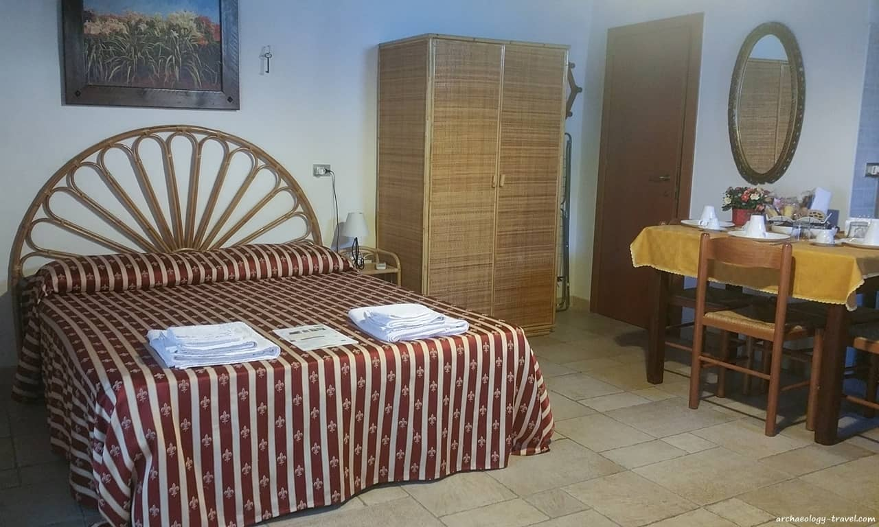 One of the larger, self-catering rooms in Borgo San Martino, Monopoli.