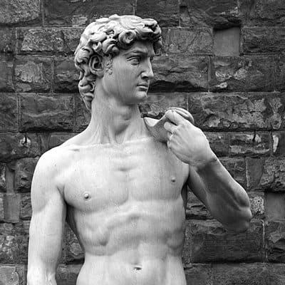 Michaelangelo's David, Florence.