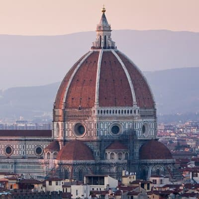 The dome of Florence Cathedral.