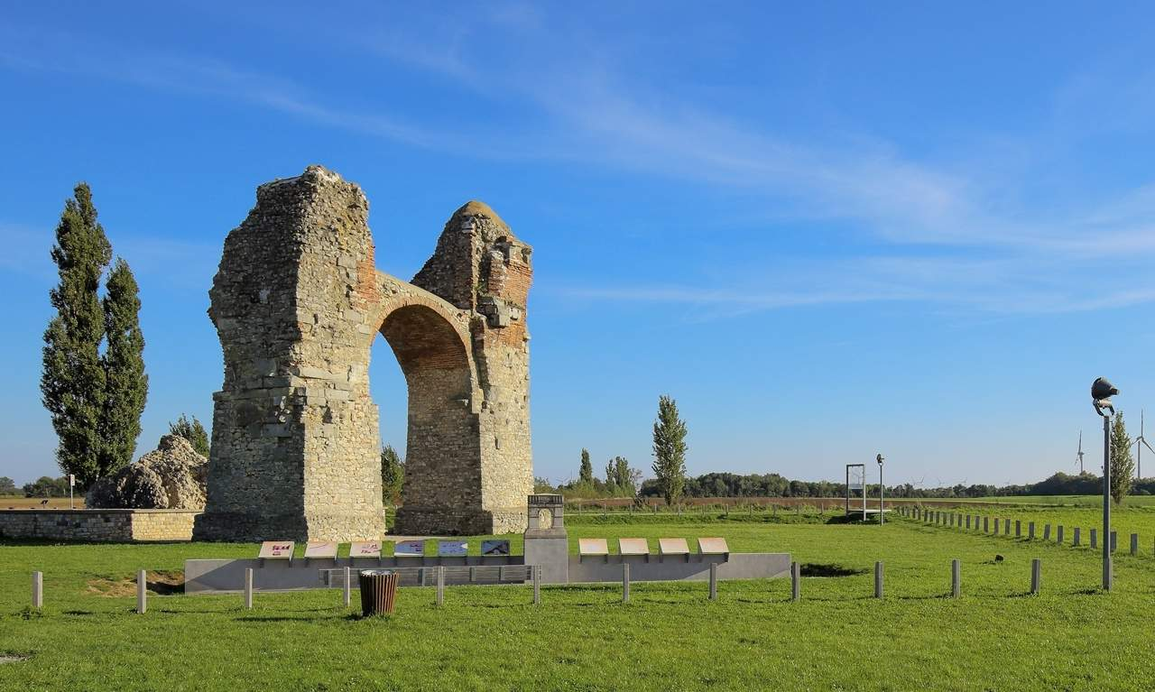 The Heidentor at Carnuntum, Austria.