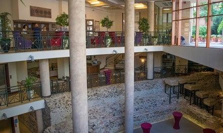 Hotel Arena Di Serdica with Roman amphitheatre.