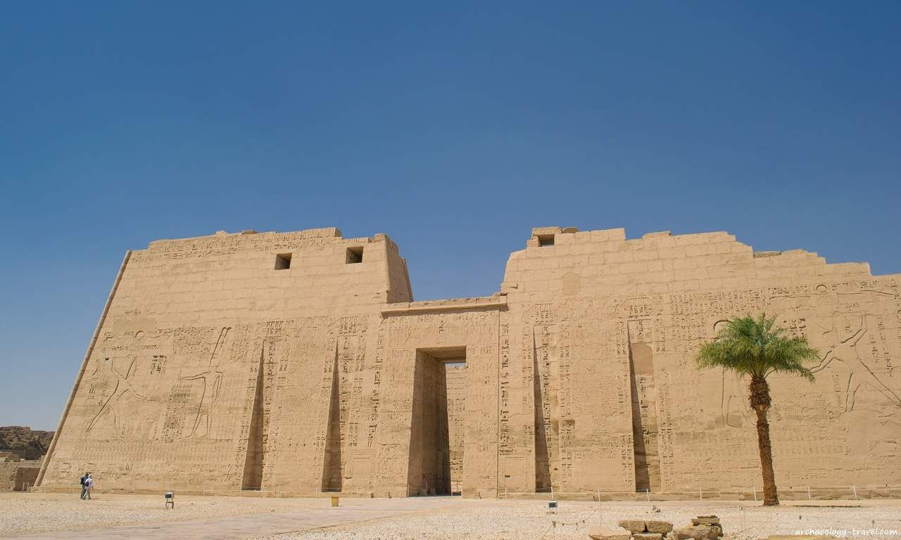 Medinet Habu (West Bank Luxor), one of the many sites included in the Luxor Pass.