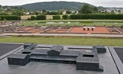 The Gallo-Roman Villa, Echternach, Luxembourg.