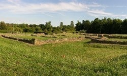 Ruins of the Bancroft Roman villa just outside Milton Keynes.