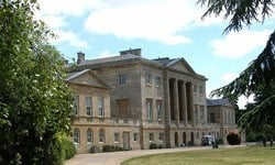 Basildon Park, an 18th century country house in Berkshire.