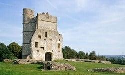 The ruins of Donnington Castle, Berkshire.