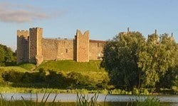Ruins of Framlingham Castle, Suffolk.