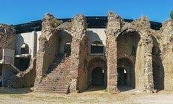 Wonderfully restored Roman amphitheatre in Fréjus, Provence.