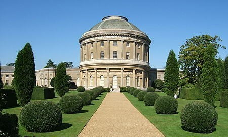 The elaborate, Italianate Ickworth House.