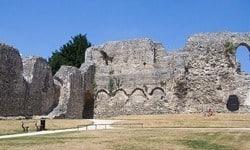 Ruins of Reading Abbey, Berkshire.