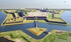 Tilbury Fort, built for Henry VIII to defend England against the French.