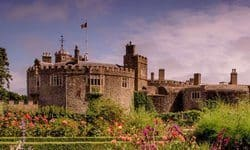 The Tudor fortress now set in beautiful gardens of Walmer Castle.