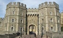 The Henry VIII gate of Windsor Castle, Berkshire in England.