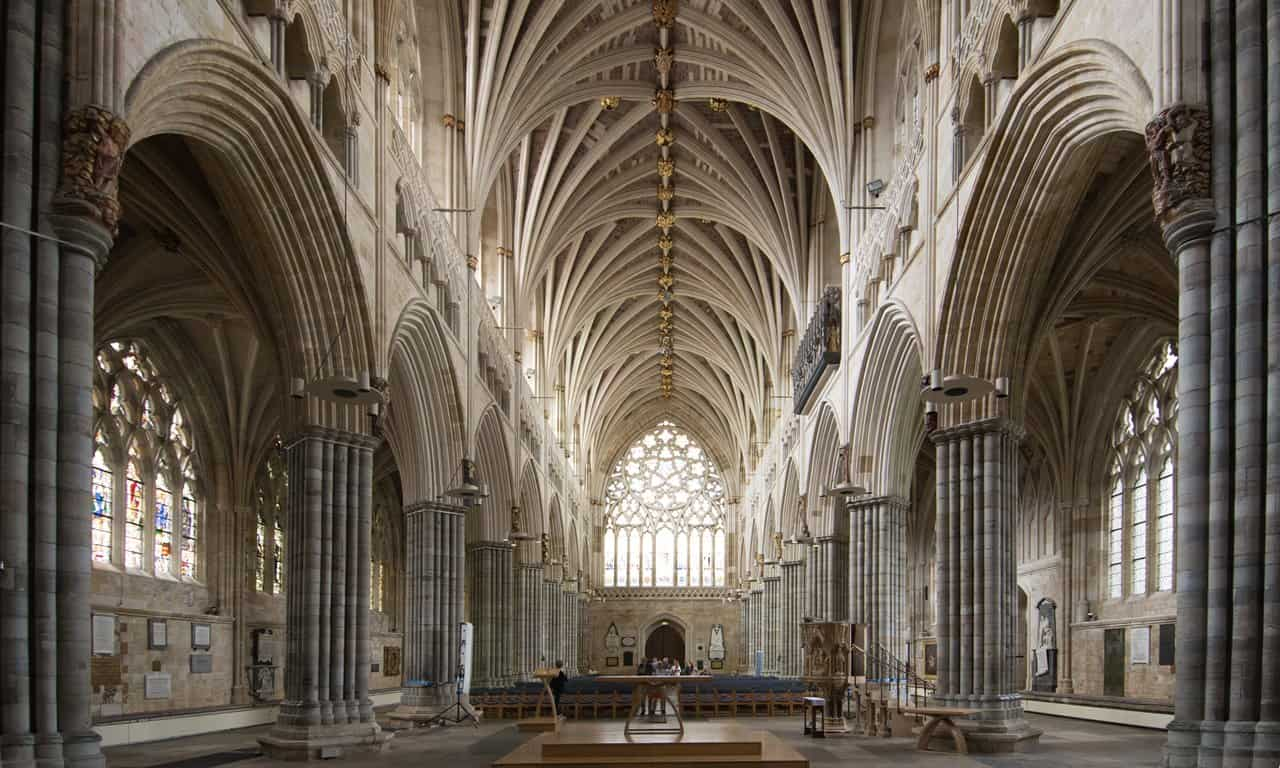 Cathedral Church Of Saint Peter At Exeter Archaeology Travel