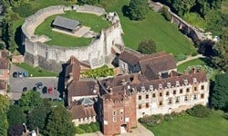 Farnham Castle founded in 1138 by Henry of Blois.