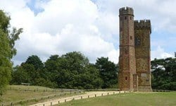 Leith Hill Tower in Surrey is built on the highest point in south-east England, 294 metres above sea level.