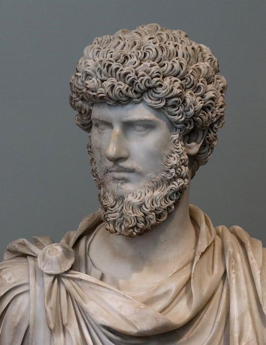 Bust of Lucius Aurelius Verus.