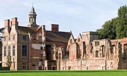 The Medieval Rufford Abbey became a country manor house.