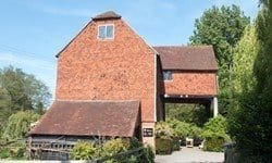 The 18th-century Grade II listed Shalford Mill, Surrey.