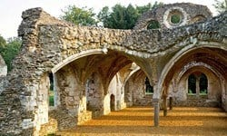 Waverley Abbey was the first Cistercian Abbey in Engalnd.