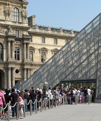 Beat the queues at the Louvre in Paris with a Museum Pass.