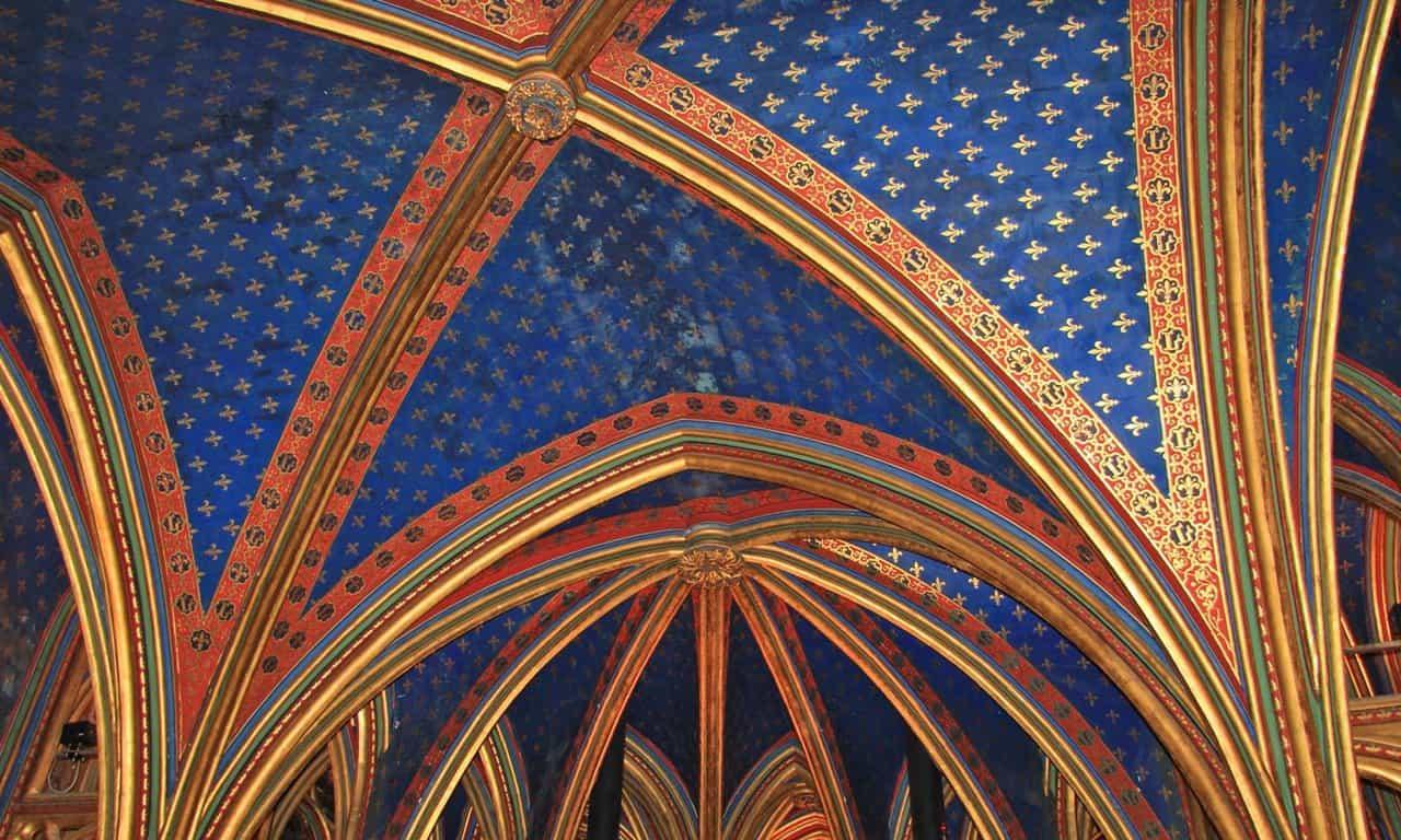 Saint Chapelle in Paris.