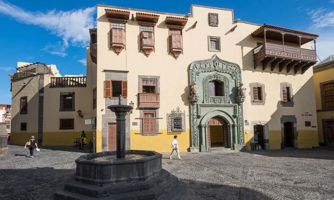 Casa de Colon, the Governor's house where Christopher Columbus stayed when he stopped in Gran Canaria.