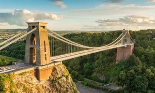 The Clifton Suspension Bridge in Bristol