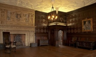 The Great Oak Room at the Red Lodge Museum in Bristol.