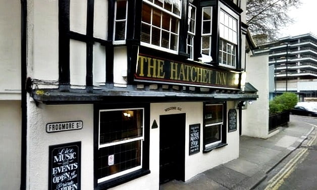 Historic Hatchett Inn, Bristol.