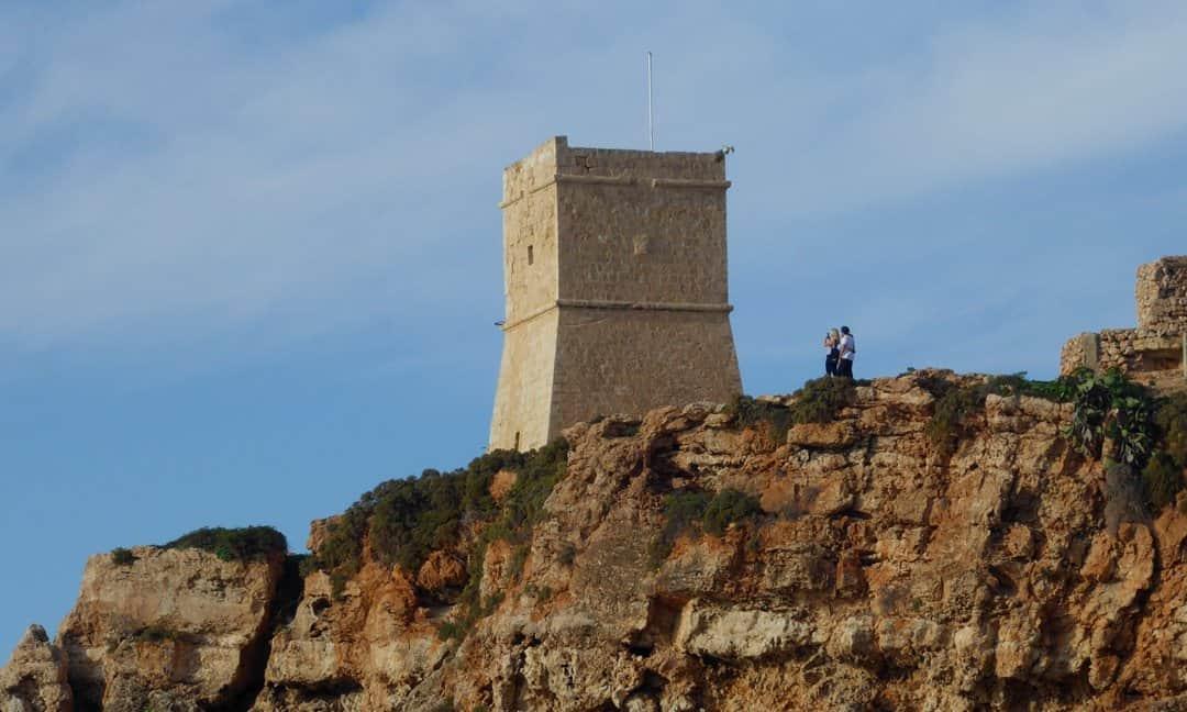 Għajn Tuffieħa Tower, Malta.