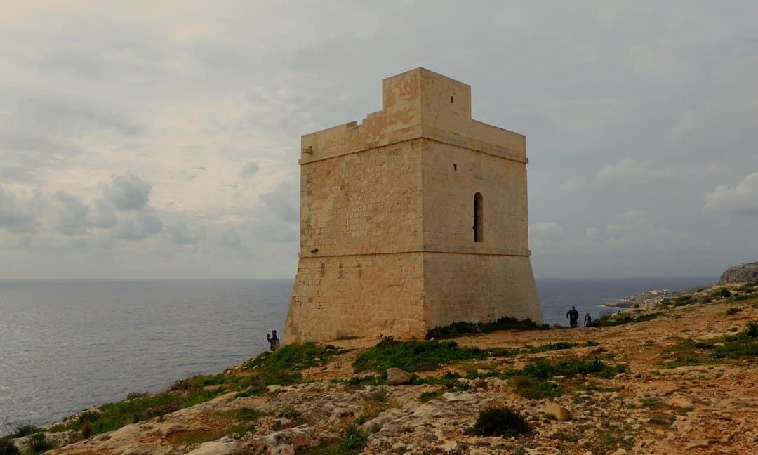 Ħamrija Tower, Malta.