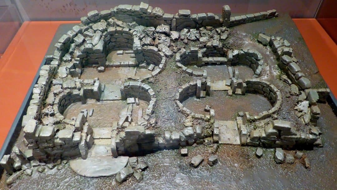 Model of the Ġgantija Temples, Gozo